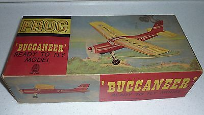 FROG Buccaneer collector's rubber flying model ready to fly RTF