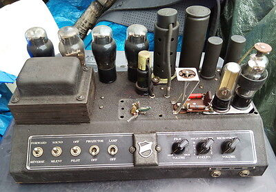 Bell & Howell Valve Amplifier - Not Tested