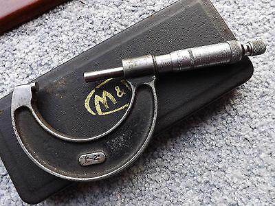 """Moore and Wright micrometer 1 -2"""" see details"""