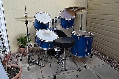 Ludwig Accent Combo Drum Kit with Paiste 302 Cymbals Paiste Hardware 2002 Pedal