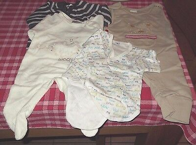 BABY BOY'S DUNGAREES BUNDLE - French - 1 month - 54cm reborn?