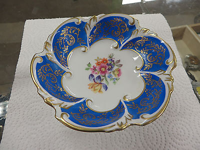 Vintage Floral Comport/Candy Dish, PM East Germany