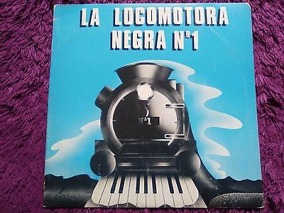 La Locomotora Negra ‎– Nº 1,  Vinyl, LP, 1982 , Spain , Signed By The Group