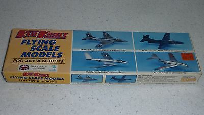 KeilKraft Easy Built Models Mig 15 Jetex balsa flying model kit