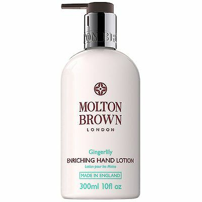 NEW Molton Brown Gingerlily Hand Lotion 300ml FREE P&P