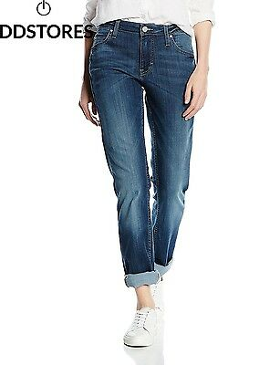 MUSTANG jean pour femme sissy slim taille w28 l34, bleu dark used scratched 582