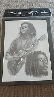 Bob Marley Picture  * Reggae * Size 5 X6 * Brand New And Sealed