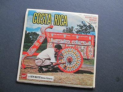 View-Master COSTA RICA Packet B022, GAF, G-2