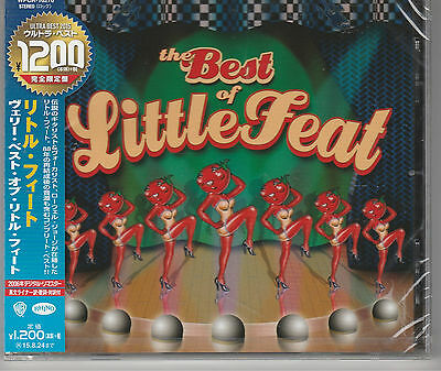 The Best Of Little Feat Japan Import Rhino New and Sealed