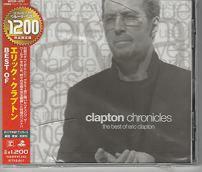 Clapton Chronicles: Best Of by Eric Clapton Japan Import New and Sealed.