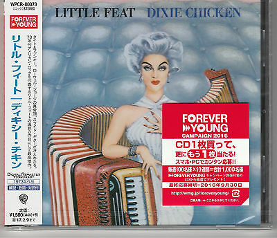 Dixie Chicken by Little Feat Japan Import New and Sealed.