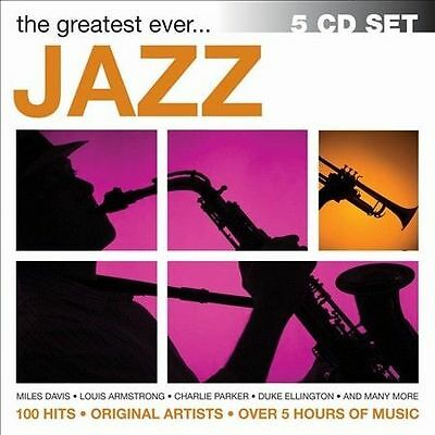 The Greatest Ever... Jazz [Box] by Various Artists (CD, Dec-2013, 5 Discs ) New