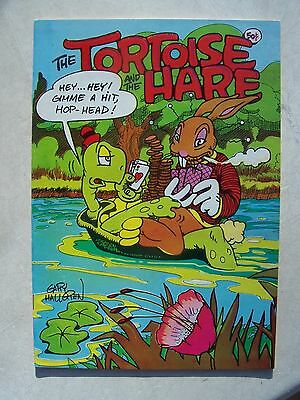 THE TORTOISE AND THE HARE VF/NM     underground comic       HIGH GRADE!