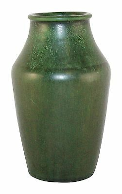 Hampshire Pottery Matte Green Arts and Crafts Vase