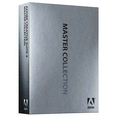 ADOBE Master Collection CS4 MAC IE english Vollversion BOX DVD MWST