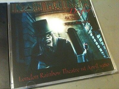 Iron Maiden Concert CD London Rainbow Theatre England 1980