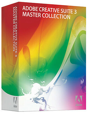 Adobe Photoshop CS3 Extended + Indesign + Illustrator +++ MAC IE Voll BOX MWST