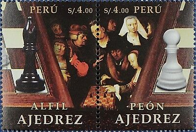 2016 Peru Chess MNH ** OFFICIAL ISSUE