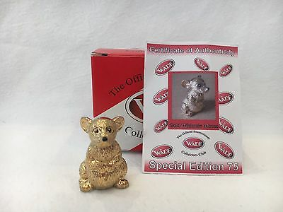 Rare Wade Special Gold Mouse Whimsie Ltd Edt Only 75