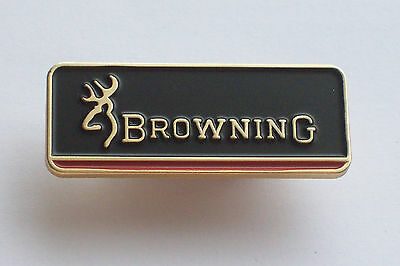 Clay Pigeon , Browning Club , Shooting Pin Badge