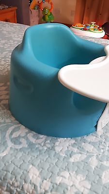 bumbo baby seat blue with play table
