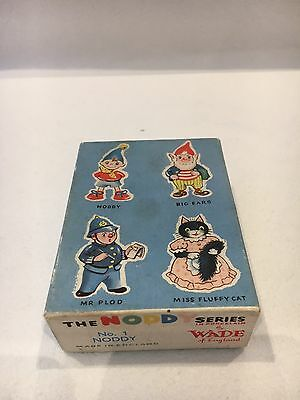 Extremely Rare Early Wade Noddy Box 1958-1961 1St Series