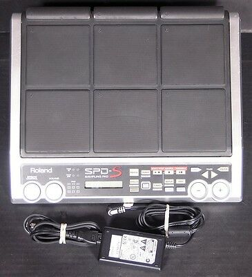 Roland SPD-S Sampling Pad With Power Supply