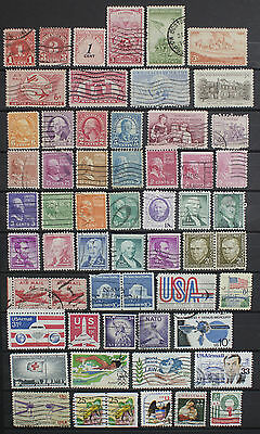 Collection of Stamps from the USA.