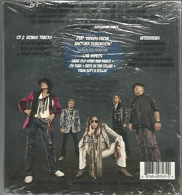 Aerosmith Music From Another Dimension Deluxe Edition CD+Dvd New Sealed