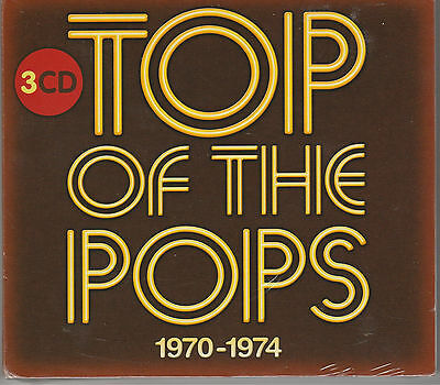 V.A.Top of the Pops: 1970-1974 3 Cd`s New Sealed, ABBA, Roxy Music, Thin Lizzy.