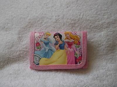 NEW DISNEY PRINCESS PINK KIDS COIN Purse WALLET Unwanted Party Bag Gift B