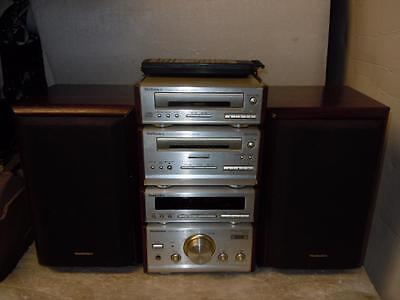 Technics Hd51 Stereo System With Remote-Sounds Superb