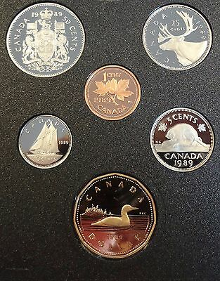 1989 Canada 6 coins uncirculated proof set