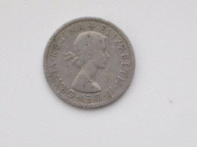 Queen Elizabeth II 1956 Circulation Florin