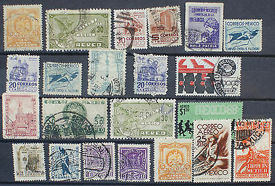 Small Lot of Mexico Stamps