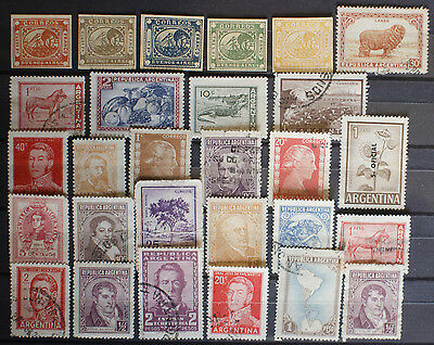 Collection from Stamps from Argentina