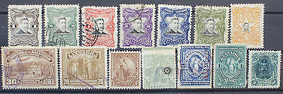 Collection of Stamps from El Salvador