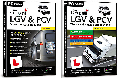 LGV & PCV Driver CPC Case Study Test + LGV & PCV Theory & Hazard Perception Test