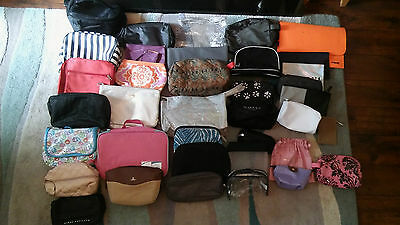 Job Lot Of Make Up And Toiletry Bags