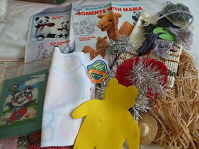 Lot Of Vintage Craft Items