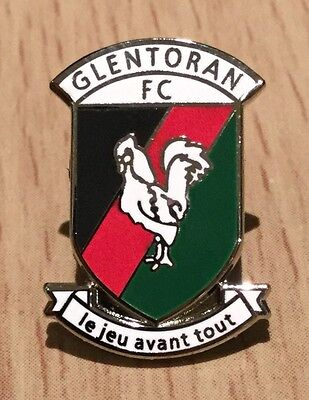 Glentoran Football Enamel Pin Badge - Brand New
