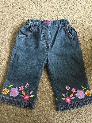 Gorgeous Girls Disney Jeans Aged 3-6 Months