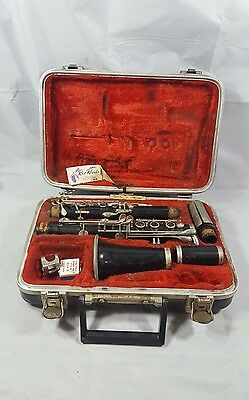 vintage Clarinet w. Carry case unknown brand student standard