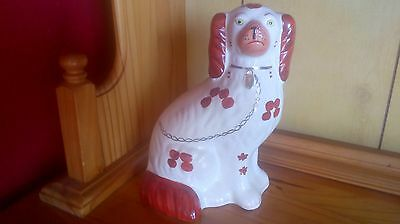 arthur wood king charles cavalier spaniel pottery dog