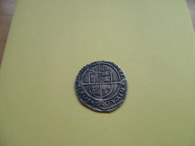 Hammered Silver Coin Elizabeth 1st Threepence 1569 AD