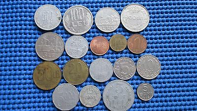 Romania lot of 18 coins