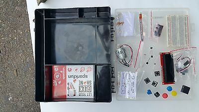 Sparkfun Inventor's Kit for Redboard, Arduino (parts missing)