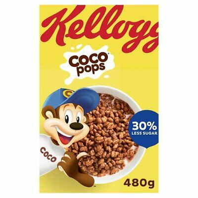 Kellogg's Coco Pops Rocks 350g - Sold Worldwide from UK