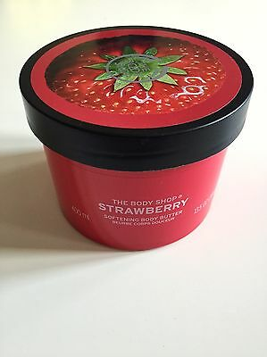 The Body Shop - Strawberry Body Butter - 400ml - *Brand New*
