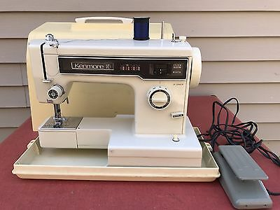 Vintage Kenmore Sewing Machine Model 158 With Case